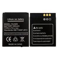 Bateria 380 mAh Smartwatch