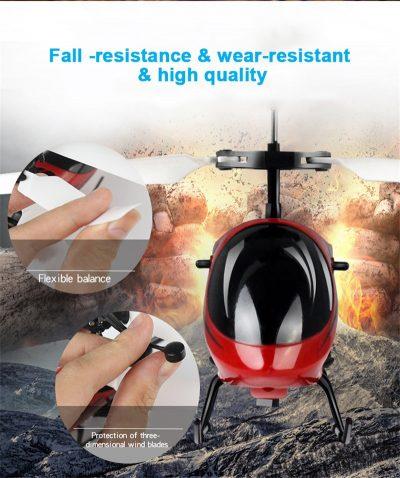 resistencia helicoptero
