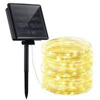 Tira de luz led solar