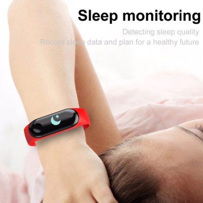 pulsera deportiva monitor sueño