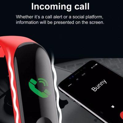 pulsera deportiva recibir llamadas