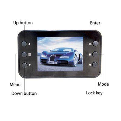 Videocámara DVR Full HD botones
