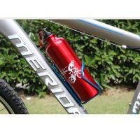 Porta botella montado en bici