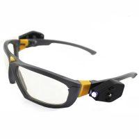 Gafas protección con luz