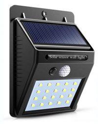 Lámpara led con sensor de movimiento
